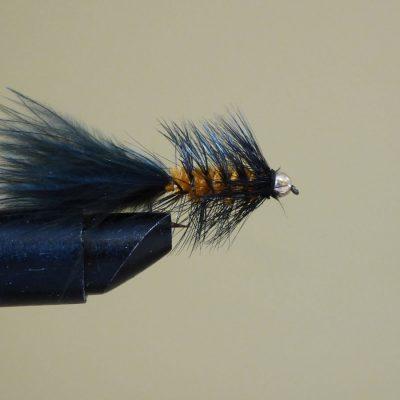 Black & Orange Wooly Bugger