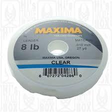 Maxima 8lb Clear