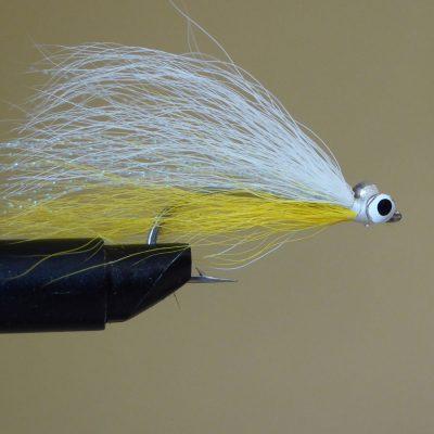 Yellow & White Bucktail
